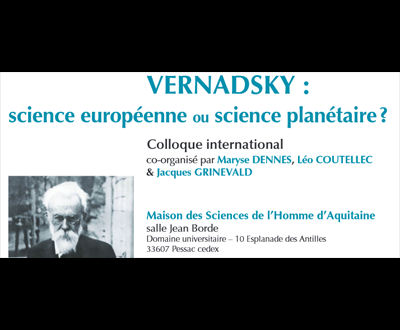Colloque Vernadsky