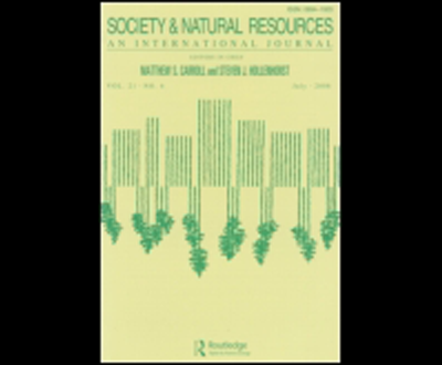 Natural Resource Sociology