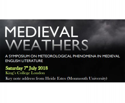Call for papers : Medieval Weather