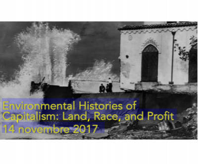 Journée d'Etudes : Environmental History of Capitalism : Land, Race and Profit